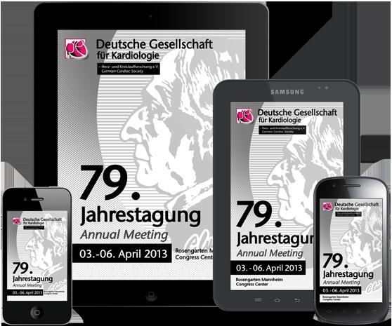 DGK FT2013 - App zur 79. Jahrestagung der DGK für iPhone, iPad, Android und mobile Devices